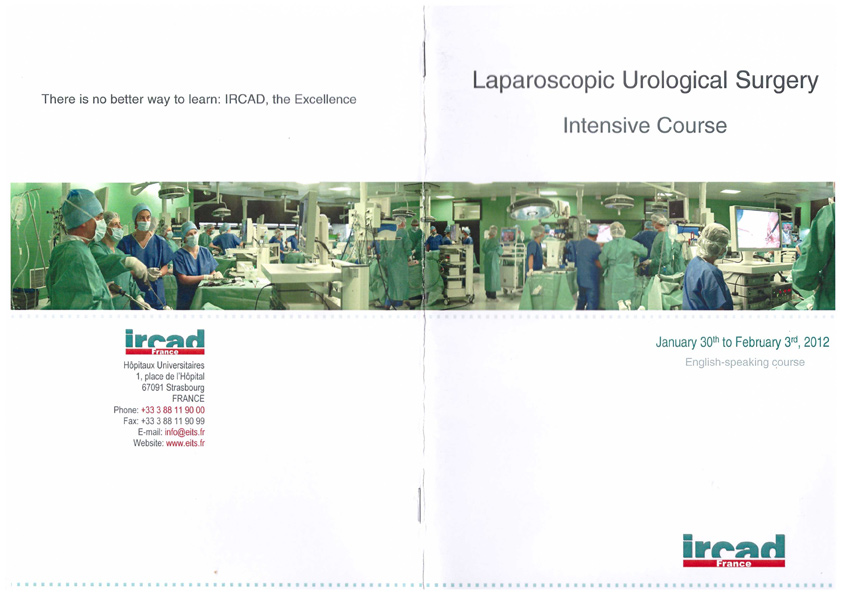 Laparoscopic-urological-surgery-2012-france