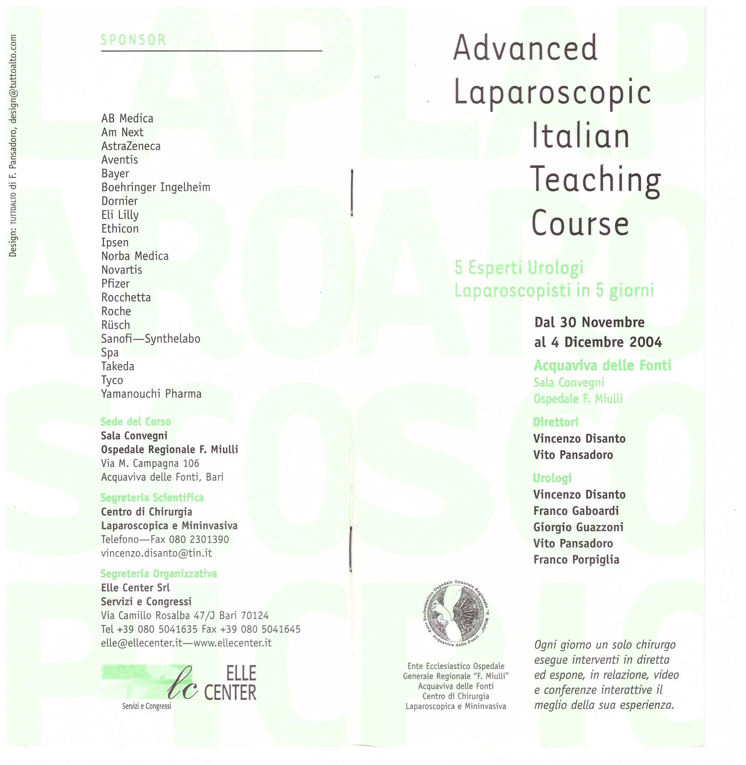 ADVANCED-LAPAROSCOPIC-ITALIAN-TEACHING-COURSE